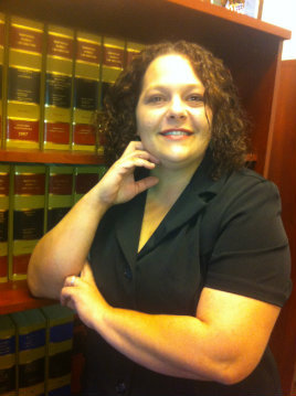 Legal Assistant Cristy Connolly