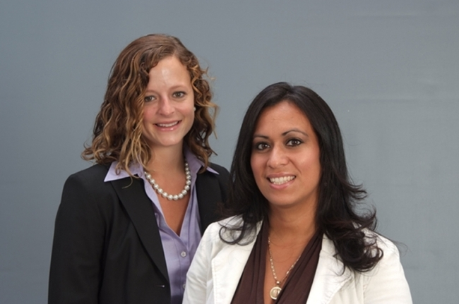 Attorney Jessica R. Whitley and Senior Legal Assistant Angelica Farias